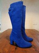 Size 40 Calf 39 Buckingham Cobalt Blue Suede