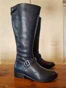 Size 39 Calf 38 Sienna Navy blue Leather