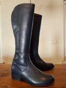 Size 39 Calf 41 Burleigh Navy Blue Leather