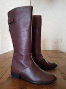 Size 36 Calf 33 Kensington Dark Brown Leather