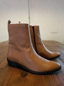 Size 37 Mayfair Tan Milled Leather