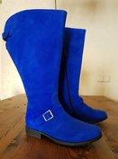 Size 38 Calf 52 Balmoral Blue Suede