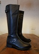 Size 38 Calf 32 Balmoral Black Leather