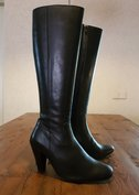 Size 39 Calf 33 Rimini Black Leather