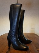 Size 41 Calf 33 Rimini Black Leather