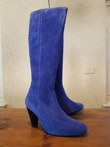 Size 39 Calf 35 Rimini Cobalt Blue Suede