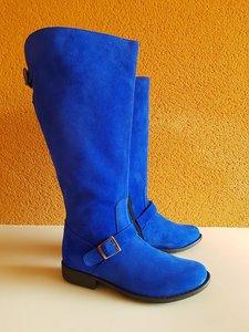 Size 38 Calf 52 Balmoral Cobalt Suede