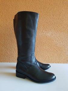 Size 38 Calf 41 Burleigh Black Leather