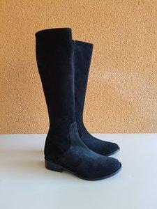 Size 37 Calf 31 Burleigh Black Suede
