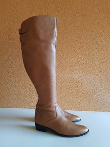 Size 43 Calf 45 Greenwich Overknee Tan Leather