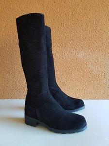 Size 38 Calf 33 Hampstead Black Suede