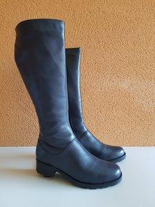 Size 39 Calf 39 Hampstead FLEECE Navy Blue Leather