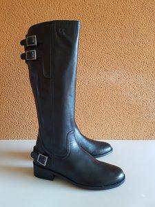 Size 41 Calf 40 Kent Black Leather