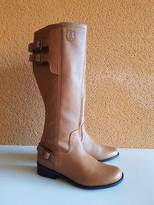 Size 37 Calf 42 Kent Tan Leather
