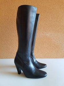 Size 39 Calf 34 Rimini Black Leather