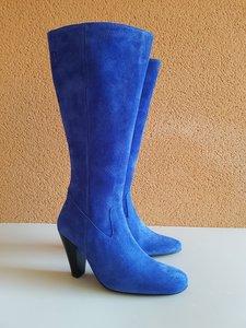 Size 38 Calf 40 Rimini Cobalt Blue Suede
