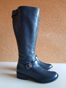 Size 39 Calf 41 Sienna Navy blue Leather