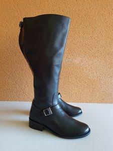 Size 40 Calf 52 Sienna Black Leather