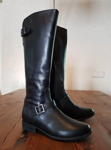 Size 37 Calf 32 Balmoral Black Leather