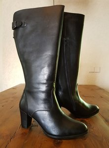 Size 38 Calf 40 Buckingham Black Leather