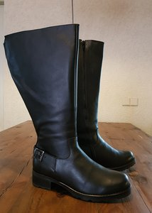 Size 38 Calf 51 Chelsea Black Leather