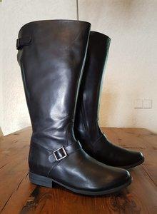 Size 39 Calf 46 Balmoral Black Leather