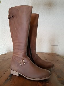 Size 39 Calf 38 Balmoral Waxy Brown