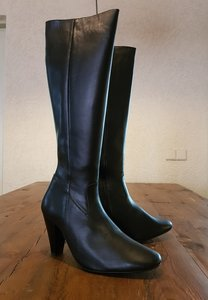 Size 39 Calf 32 Rimini Black Leather