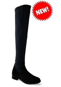 Chiswick Stretch Overknee Leather & Suede *NEW*