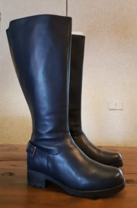 Size 36 Calf 39 Chelsea Navy Blue Leather