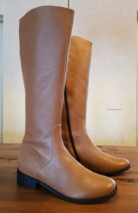 Size 41 Calf 37 Burleigh Tan Milled Leather