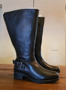 Size 40 Calf 50 Chelsea Black Leather