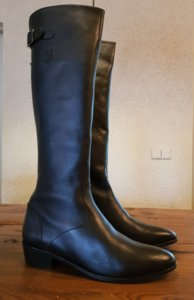 Size 42 Calf 33 Kensington Black Leather